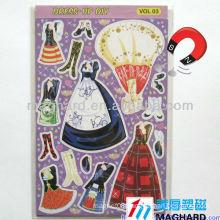 Magnetic DIY toys for kids dress up magnets