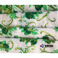 Warna-warni Bunga Rayon Printed Fabric For Dress