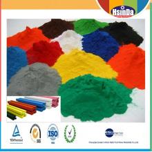 Lichtbeständigkeits-kundenspezifische Farbaluminiumrahmen-Farben-Spray-Pulver-Beschichtung