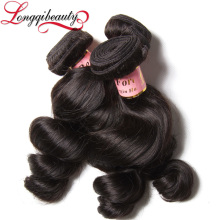 100% cheap Remy Wavy Hair Weaving