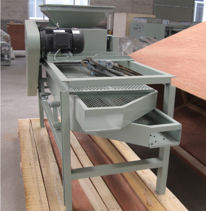 almond shelling machine