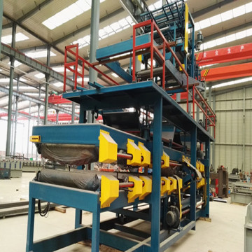 EPS Roof Wall Panel Roll Vaning Machine