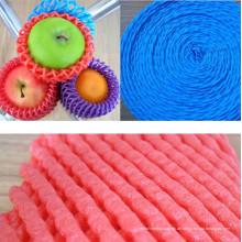 FDA-zugelassener Plastikschutz-Frucht-Netz-röhrenförmige Schaum-Socke