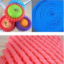 FDA утвержденных пластиковый защитный фруктов сетчатый трубчатый пены носок