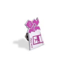 Stamp Logo Soft Enamel Lapel Pin, badge personnalisé (GZHY-FFL-012)