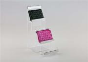 Acrylic fashion handbag wallet purse stand display rack