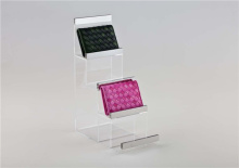 Acrylic fashion handbag wallet purse stand display rack