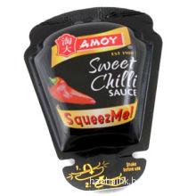 New arrival eco-friendly foil plastic chilli sauce bags