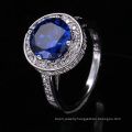 new arrivals 2018 indian engagement rings with names Spinel Blue discount ring