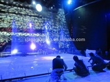 6m width 3D transparent holographic projection film for fashion show