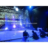 6m width 3D transparent holographic projection film for fashion show