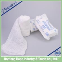 bandage médical de gaze de coton absorbant de krinkle