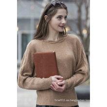 Suéter 100% de cachemira de las mujeres (1500002075)