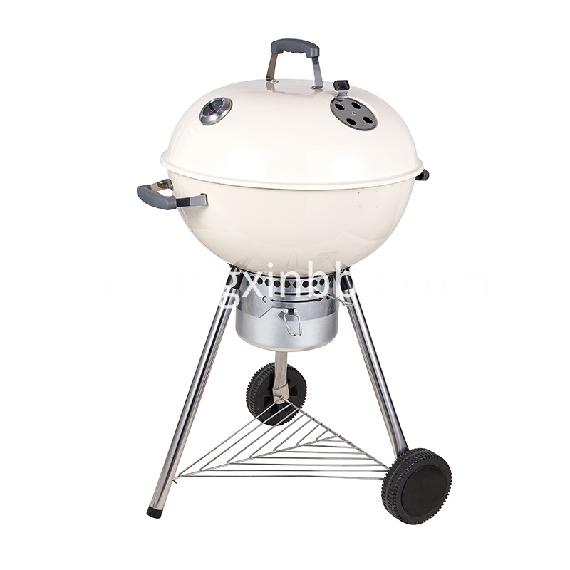 18 Deluxe Weber Style Grill White