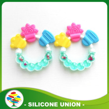 Silicone Baby Teething Ring For Baby Teether