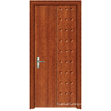 Hot Sale Good Quality PVC Wooden Door with Fashion Design