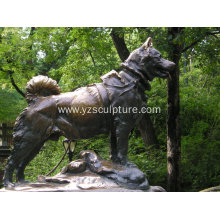 Bronze Dog Sculpture For Sale
