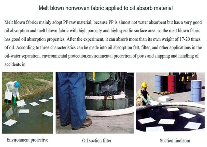 Oil Suction Nonwoven Fabric