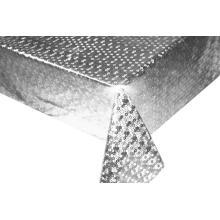Mantel de PVC de plata y oro por rollo