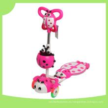 Promoción Niños Rana Scooter con cesta de dibujos animados