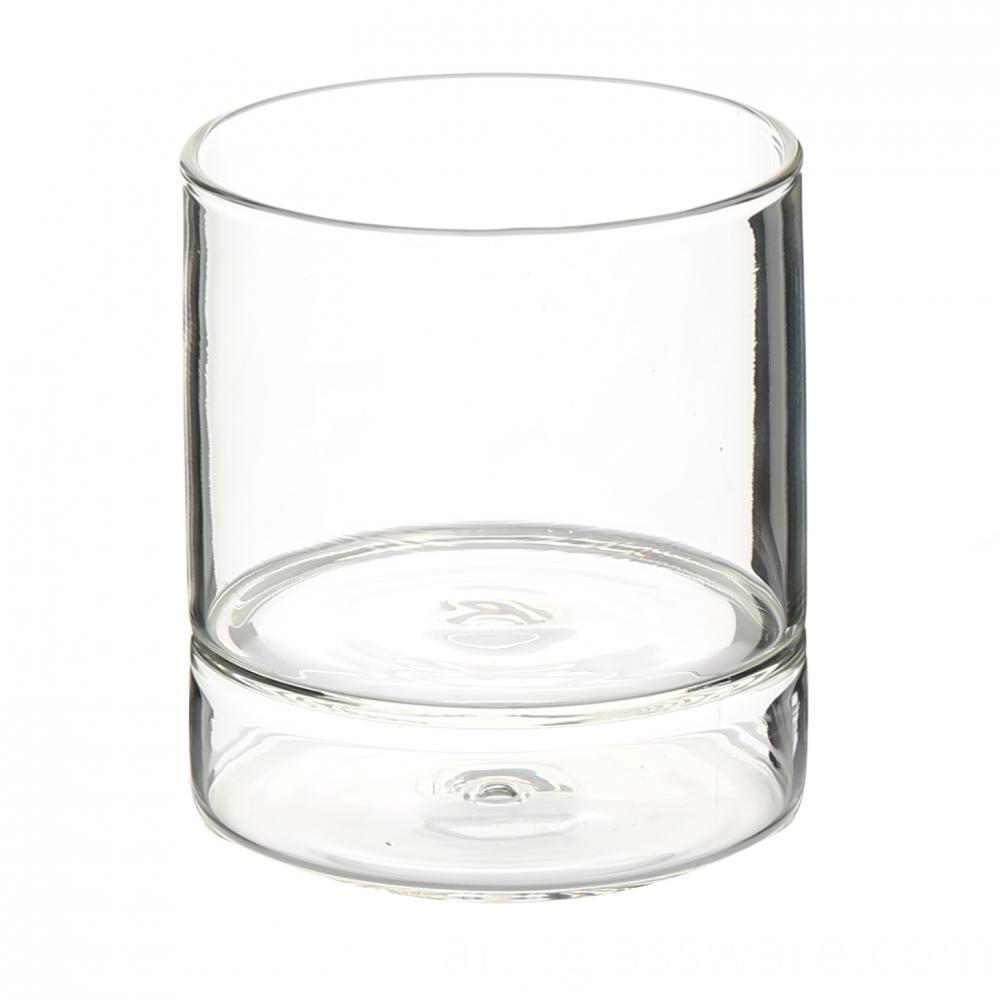 Clear Glass Beer Cup