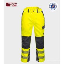 pantalones de trabajo nuevos productos 2017 pantalones de seguridad baratos utilizados pantalones de trabajo de alta reflexivo cinta de trabajo