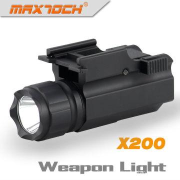 Lampe de poche militaire de Maxtoch X200 avec la lumière d'arme à feu de CREE R5 280 lumens LED