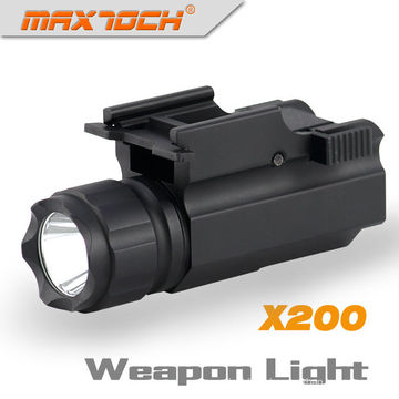Maxtoch X200 Military Flashlight With CREE R5 280 Lumens LED Gun Light