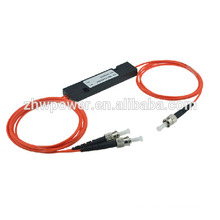 FTTH 1 * 2 divisor multimodo, divisor óptico de la fibra del ST, divisor óptico del mini tipo ST