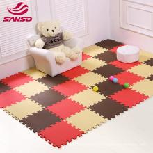 safe and non-toxic Kids Educational Floor Mat Multicolor environmental friendly jigsaw tatami puzzle eva foam mat