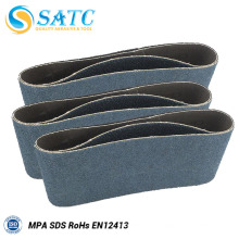 Cinturón abrasivo de arena para correa en abrasivo para granito 10 PACK