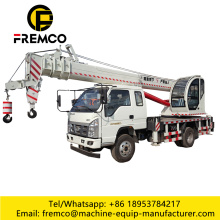10 Tons 5 Folded Arm Truck Crane