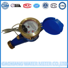 Brass Material Dry Type Pulse Water Flow Meters (DN15-DN25)
