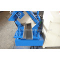 Carril de guía de puerta de acero galvanizado que forma la máquina