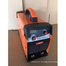 Wechselrichter-Lichtbogenschweißmaschine MMA-200