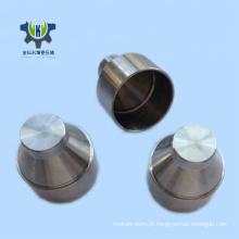 Metal de aço inoxidável pequeno virou peças de máquinas personalizadas em desenhos 3D