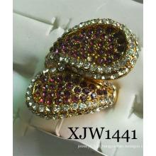 Anel de diamante / anel de moda (xjw1441)