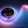 60LEDs/m 5050 led dmx strip club lighting 24 volt led rope light