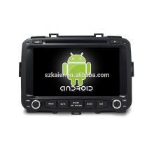 Núcleo Octa! Android 7.1 carro dvd para CARENS com 8 polegada de Tela Capacitiva / GPS / Link Espelho / DVR / TPMS / OBD2 / WIFI / 4G