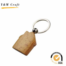 Promotion Gift House Shaoe Wooden Keychain