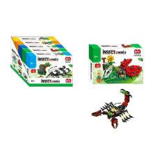 Boutique Baustein Spielzeug für DIY Insekt Welt-Marienkäfer