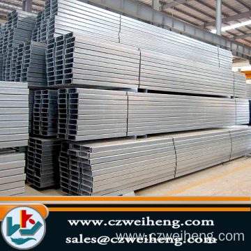2015 Excellent Performance Welded galvanized square steel pipes, welded square pipe