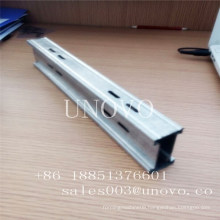 cold rolling galvanized steel profile for glass office partition