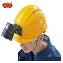 Aluminum Alloy Miner Safety Helmet Light