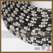 Larga vida útil de alambre de diamante para el corte de mármol