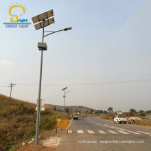 Exported to Ghana and Nigeria luminarias led publico solar