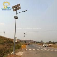 Nuevo diseño 8M 60W luz de calle solar LED