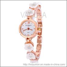 VAGULA moda reloj pulsera con flor (Hlb15671)