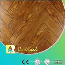 8.3mm Embossed Maple V-Grooved Waxed Edged Laminate Floor