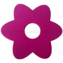 Práctico de costa en forma de flor del silicón (RS37)
